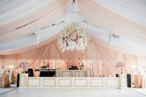 layered-blush-sheer-wedding-tent-reception-band-backdrop-drape-quest-events