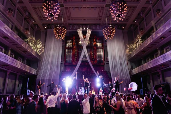 White-sheer-concert-drape-backdrop-nashville-symphony-quest-events-rental