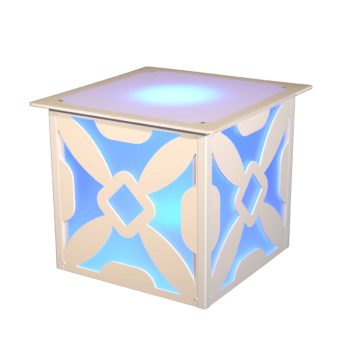 Quest-Events-Style-Tyles-End-Table-Lattice-Pattern-Rental-Totally-Mod