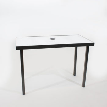 Quest-Events-Table-Rentals-Charging-Conversation-Tables-30-inches-high-2-ports-white-top