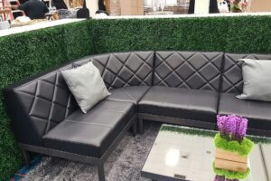 Soft Seating_4 Section L Couch_Black Diamond Back