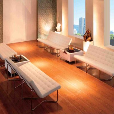 Blush_Soft Seating_Brooklyn Benches_White