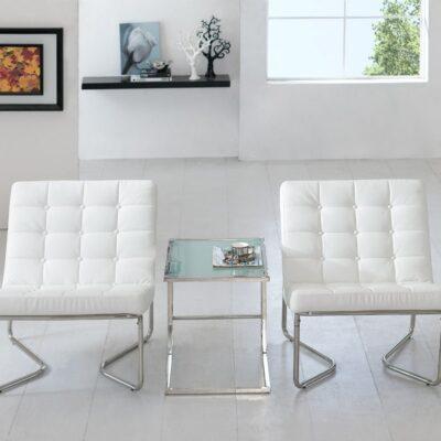 Blush_Soft Seating_Brooklyn Chairs_White