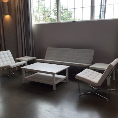 Blush_Soft Seating_Brooklyn_White_Chair Sofa_Coffee Table
